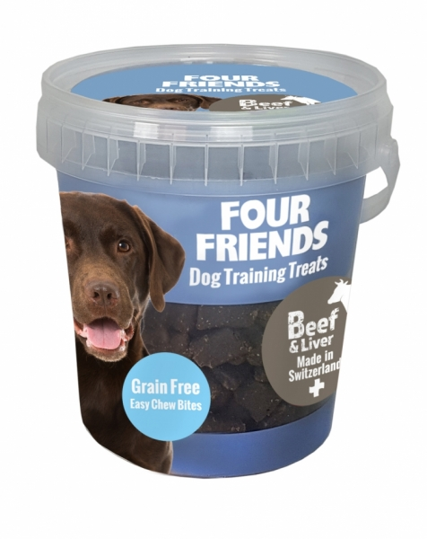 FourFriends Training Treats Beef & Liver 400g i gruppen Hundgodis hos Dogmania (1010)