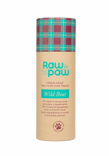 Raw For Paw Wild Boar Dog Treats in the group Dog Equipment / Puppy at Dogmania (1143)