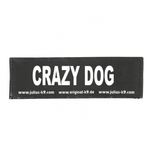 Julius K9 Label Crazy Dog in the group Dog Equipment / Dog Harnesses / Accessories / Accessories for Julius K9 at Dogmania (1157)