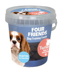 FourFriends Training Treats Turkey 400g i gruppen Hundgodis hos Dogmania (1161)