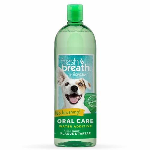 Tropiclean Fresh Breath Water Additive Original 473 ml in the group Other / Care / Mouth care at Dogmania (1200)