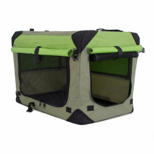 Dogman Canvas Crate Grassy Green in the group Other / Dog Crates at Dogmania (1253)