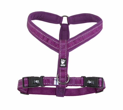 Hurtta Casual Padded Y-Harness Heather Lilac in the group Dog Equipment / Dog Harnesses / Y Harnesses at Dogmania (1281)