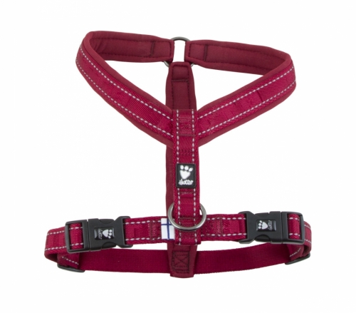 Hurtta Casual Padded Y-Harness Lingon in the group Dog Equipment / Dog Harnesses / Y Harnesses at Dogmania (1282)
