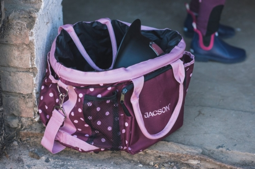 Jacson Training Bag Dog Plum/Pink in the group Dog Training / Training Bags at Dogmania (1462)
