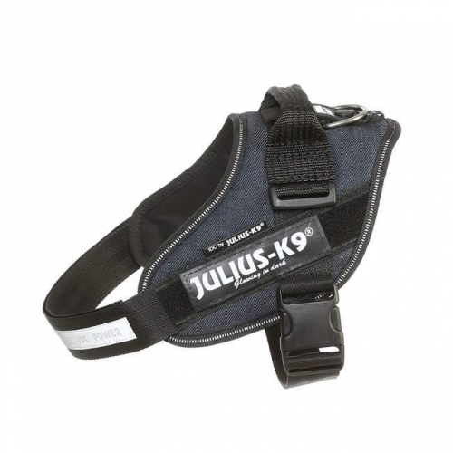 Julius K9 IDC Harness Denim in the group Dog Equipment / Dog Harnesses / Julius K9 at Dogmania (1463)
