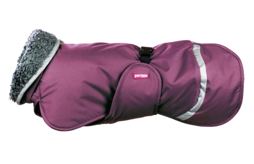 Pomppa Toppa Warming Coat Plum in the group Dog Equipment / Dog Coats / Warming coats at Dogmania (1466)