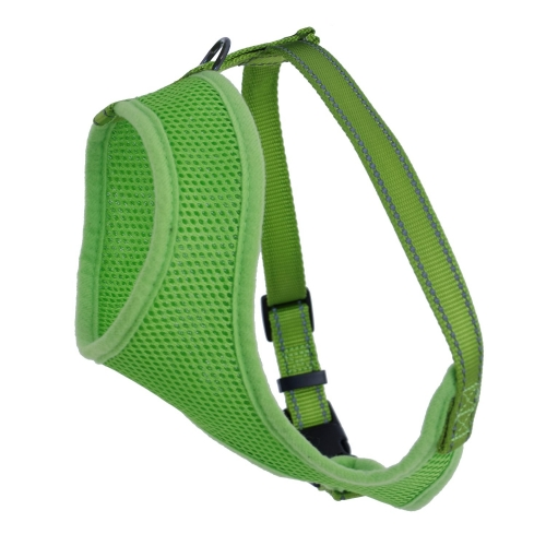 Dogman Mesh Harness Iris Green in the group Dog Equipment / Dog Harnesses / Y Harnesses at Dogmania (1606)