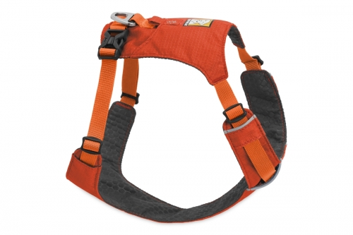 Ruffwear Hi & Light Sockeye Red Harness in the group Dog Equipment / Dog Harnesses / Y Harnesses at Dogmania (1615)