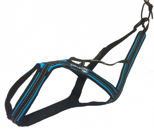 Zero DC Cross DC Harness Turquoise in the group Dog Equipment / Dog Harnesses / Mushing Harnesses at Dogmania (1670)