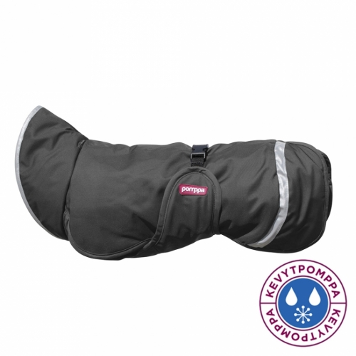 Pomppa Kevyt Raincoat Graphite in the group Dog Equipment / Dog Coats / Raincoats at Dogmania (1739)