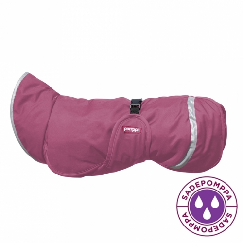 Pomppa Sade Raincoat Calluna in the group Dog Equipment / Dog Coats / Raincoats at Dogmania (1746)