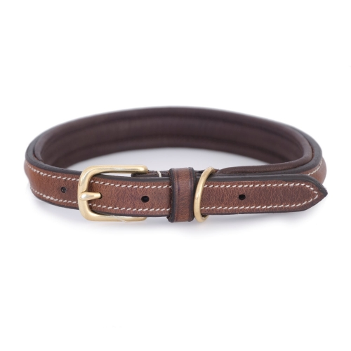Jacson Leather Dog Collar Arezzo in the group Dog Equipment / Dog Collars / Leather Collar at Dogmania (1760)
