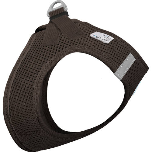 Curli Vest Harness Air-Mesh Brown in the group Dog Equipment / Dog Harnesses / Y Harnesses at Dogmania (1804)