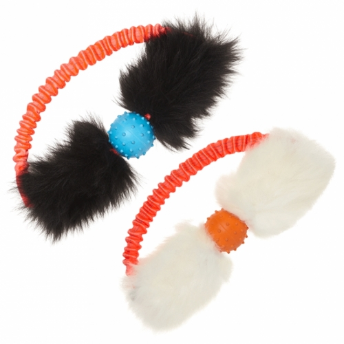 Dog Bungee Tug Toy: Tug-E-Nuff Bungee Ring