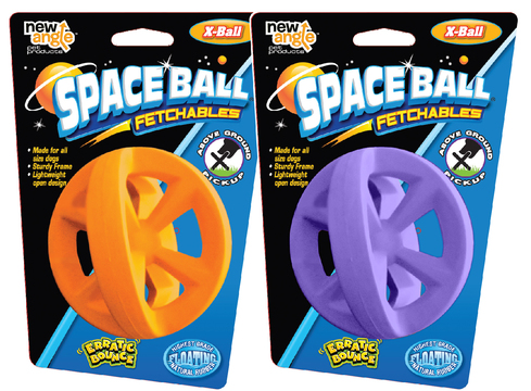 New Angle Space Ball X-Ball Fetch Toy Lila i gruppen Hundleksaker / Bollar hos Dogmania (2063)