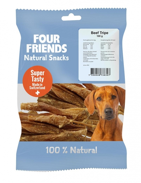 FourFriends Natural Snacks Beef Tripe i gruppen Hundgodis / Tuggben hos Dogmania (2176)