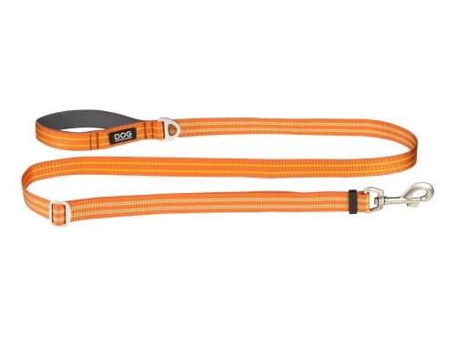 Dog Copenhagen Urban Freestyle Leash Orange Sun in the group Dog Equipment / Leashes / Nylon Leashes at Dogmania (2209)