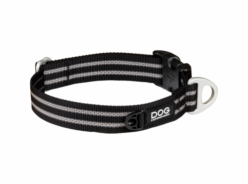 Dog Copenhagen Urban Style Collar Black in the group Dog Equipment / Dog Collars / Adjustable Dog Collars at Dogmania (2211)