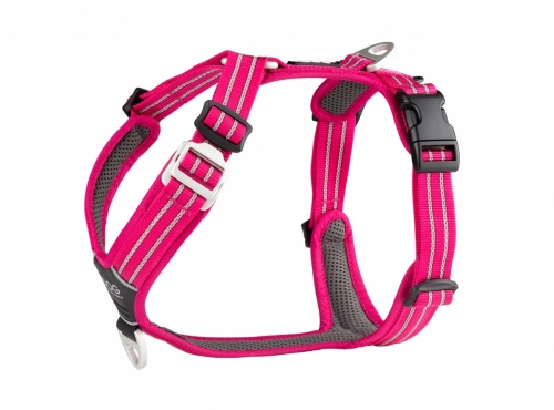Dog Copenhagen Comfort Walk Air Harness Wild Rose in the group Dog Equipment / Dog Harnesses at Dogmania (2222)