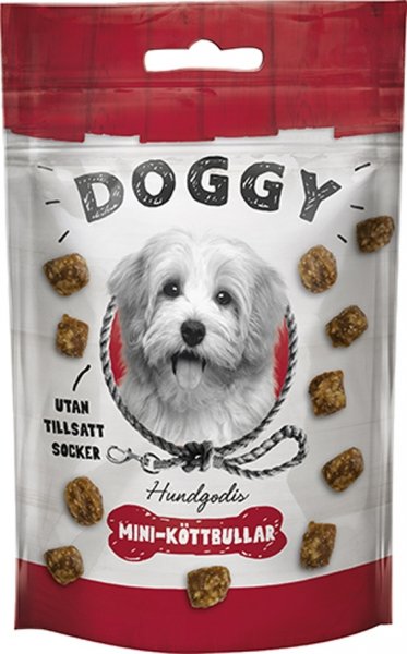 Doggy Dog Treats Mini Meatballs 50 g in the group Dog Treats & Chew bones / Dog treats at Dogmania (2328)