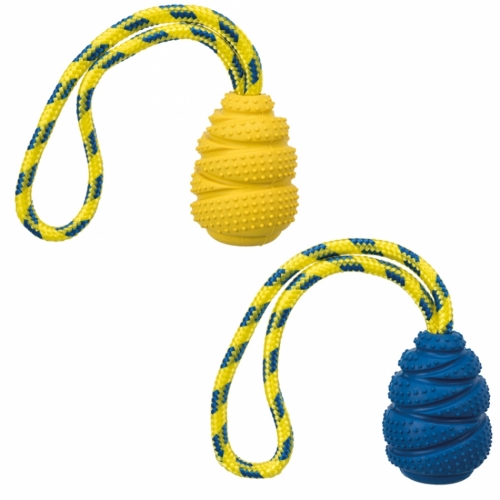 Trixie Sporting Jumper With Rope in the group Dog toys / Balls / Balls with rope at Dogmania (2332)