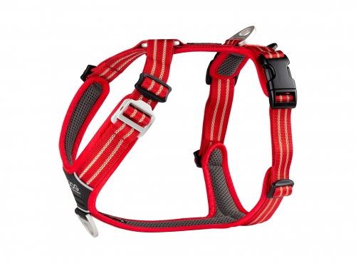 Dog Copenhagen Comfort Walk Air Harness Classic Red in the group Dog Equipment / Dog Harnesses / Y Harnesses at Dogmania (2373)