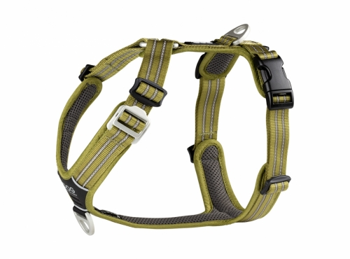Dog Copenhagen Comfort Walk Air Harness Hunting Green in the group Dog Equipment / Dog Harnesses / Y Harnesses at Dogmania (2374)