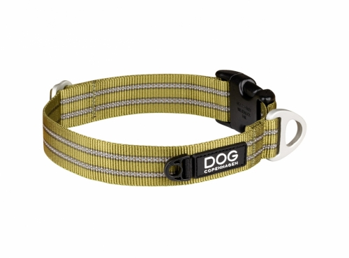 Dog Copenhagen Urban Style Collar Hunting Green in the group Dog Equipment / Dog Collars / Adjustable Dog Collars at Dogmania (2376)