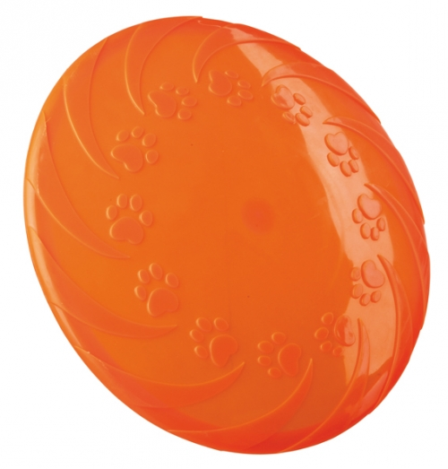 Trixie Floatable Frisbee TPR Orange in the group Dog toys / Frisbees at Dogmania (2450)