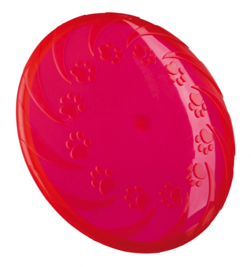 Trixie Floatable Frisbee TPR Pink in the group Dog toys / Frisbees at Dogmania (2451)
