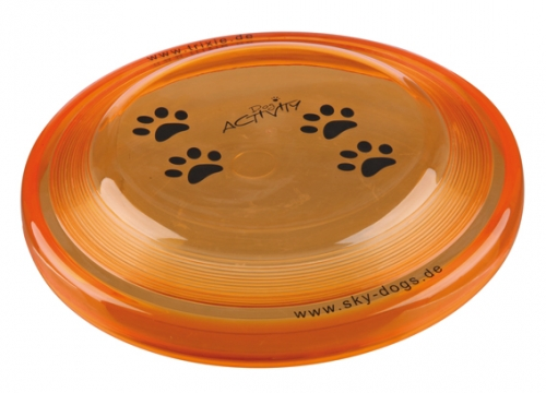 Trixie Frisbee Plastic Chew Resistant Orange in the group Dog toys / Frisbees at Dogmania (2456)