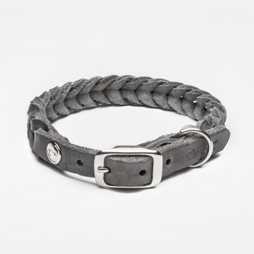 Cloud7 Central Park Elephant Leather Collar in the group Dog Equipment / Dog Collars / Leather Collar at Dogmania (2500)