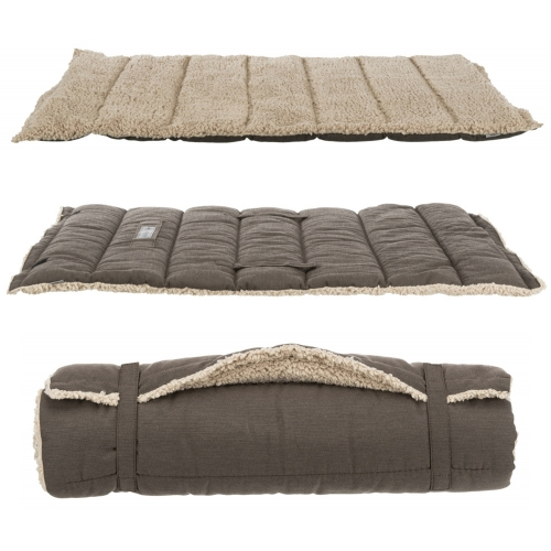 Trixie Bendson Travel Blanket Dark Brown/Beige in the group Dog Equipment / Dog beds at Dogmania (2540)