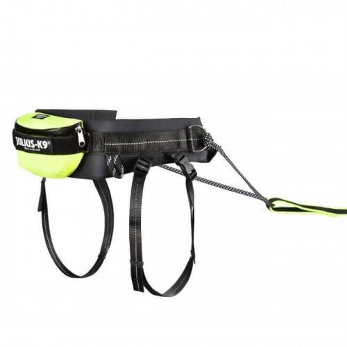 Julius K9 Premium Jogging Leash Neon in the group Dog Training / Dog Sledding Supplies / Mushing Belts at Dogmania (2636)