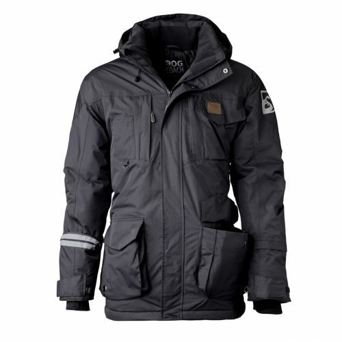 DogCoach Dogwalking Winter Jacket Men Dark Grey in the group Other / For dog owner / Clothing at Dogmania (2685)