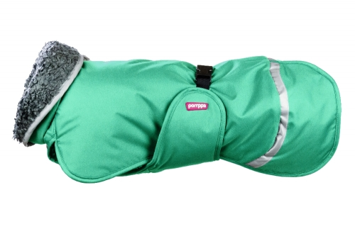 Pomppa Toppa Warming Coat Mint in the group Dog Equipment / Dog Coats / Warming coats at Dogmania (2687)