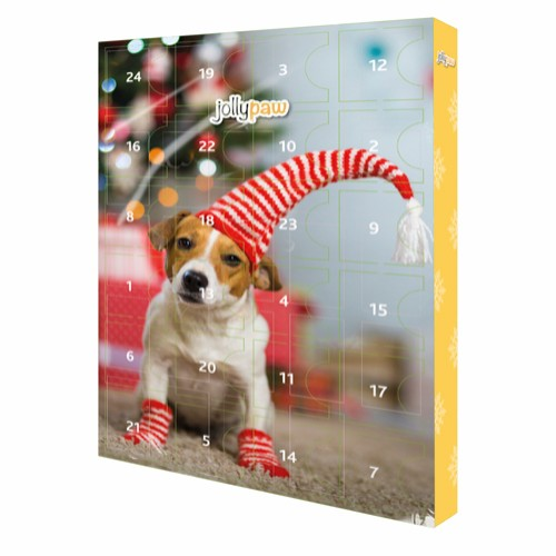 Jolly Paw Advent Calendar for dogs in the group Dog Treats & Chew bones at Dogmania (2747)