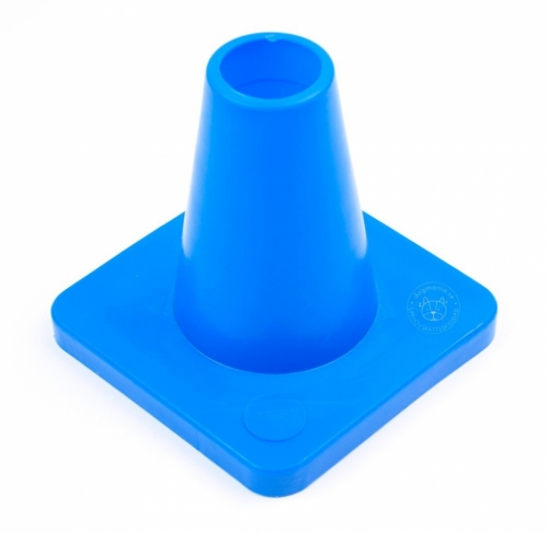 Cones for obedience 15 cm Blue in the group Dog Training / Obedience & IPO at Dogmania (291007)