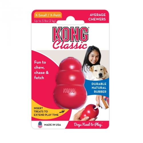 Kong Classic Red in the group Dog toys / Interactive Dog Toys at Dogmania (2914)