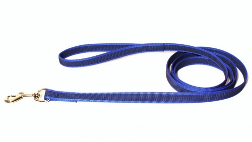 Alac Leash Super Grip Blue 20 mm x 190 cm in the group Dog Equipment / Leashes / Anti-slip at Dogmania (2918)