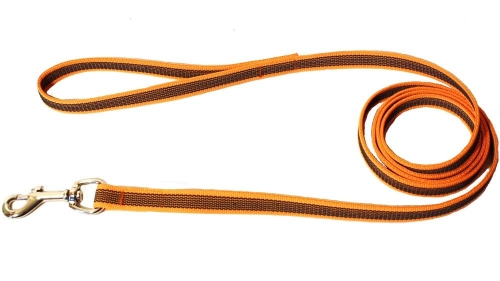Alac Leash Super Grip Orange 20 mm x 190 cm in the group Dog Equipment / Leashes / Anti-slip at Dogmania (2919)