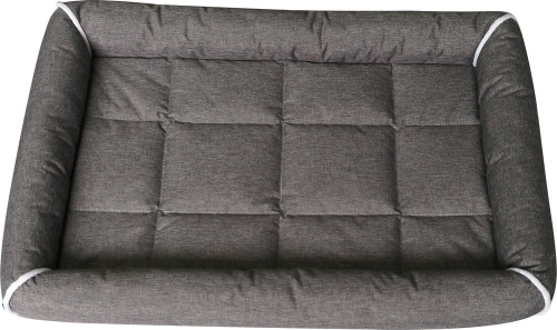 Dogman Buddy Dog Bed With Edges Grey in the group Dog Equipment / Puppy at Dogmania (3034)