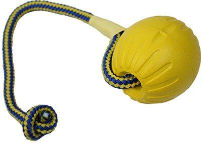 Swing n Fling DuraFoam Fetch BALL in the group Dog toys / Balls / Balls with rope at Dogmania (309)