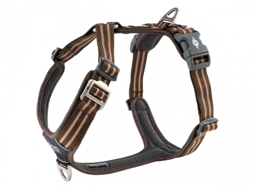 Dog Copenhagen Comfort Walk Air Harness Mocca NEW 2020 in the group Dog Equipment / Dog Harnesses / Anti Pull Harnesses at Dogmania (3094)