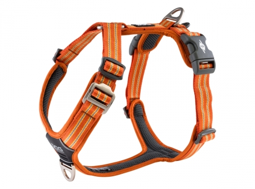 Dog Copenhagen Comfort Walk Air Harness Orange Sun NEW 2020 in the group Dog Equipment / Dog Harnesses / Anti Pull Harnesses at Dogmania (3097)