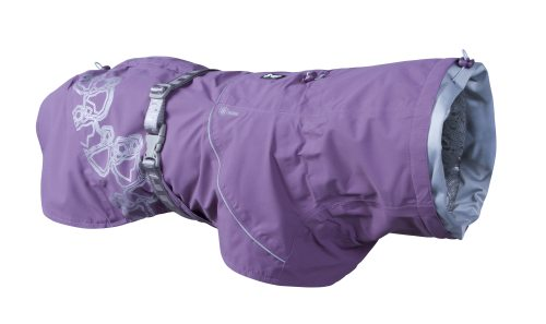 Hurtta Drizzle Raincoat Currant in the group Dog Equipment / Dog Coats / Raincoats at Dogmania (3157)