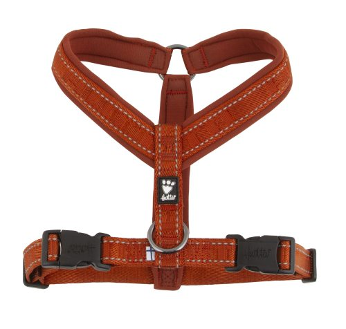 Hurtta Casual Vadderad Y-sele Cinnamon in the group Dog Equipment / Dog Harnesses / Y Harnesses at Dogmania (3162)