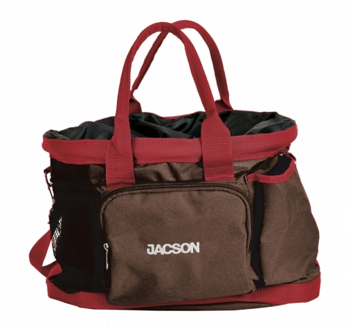 Jacson Training Bag Dog Brown/Red in the group Other / For dog owner / Bags at Dogmania (330006)