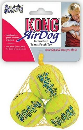 Kong AirDog Squeakair Tennis Ball S in the group Dog toys / Balls / Balls with squeaker at Dogmania (351)
